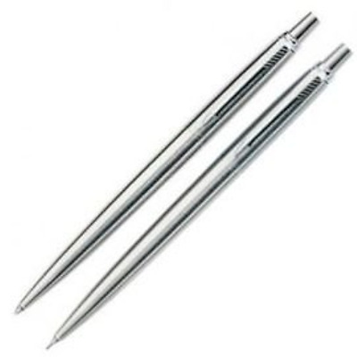 Parker Jotter Stainless Steel Ball Pen and Pencil Gift Set