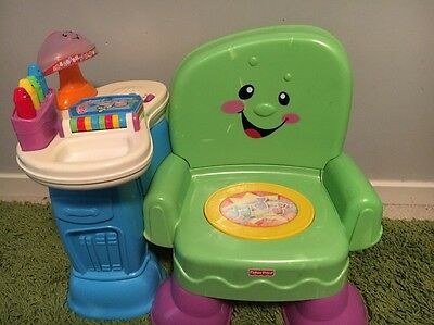 Fisher Price Laugh And Learn Musical Learning Seat