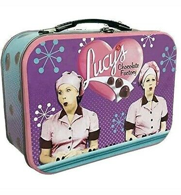 I Love Lucy lunch box tin