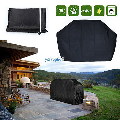 Heavy Duty Waterproof Extra Large BBQ Cover Barbecue Garden Grill Rain Protector