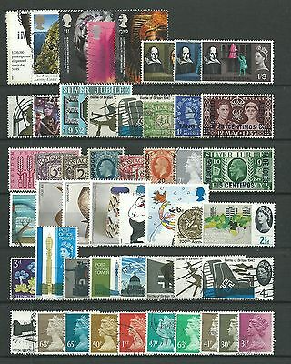 Great Britain, 50 Various, Used