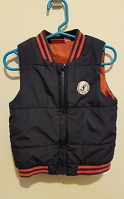 Toddler boy Sprout puffer vest size 2