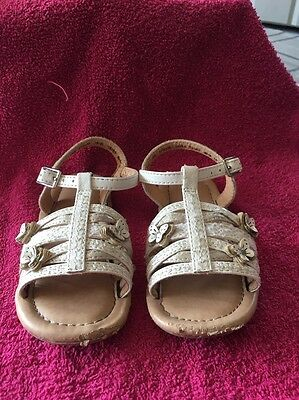 Girls Next Summer Sandals Infant Size 6