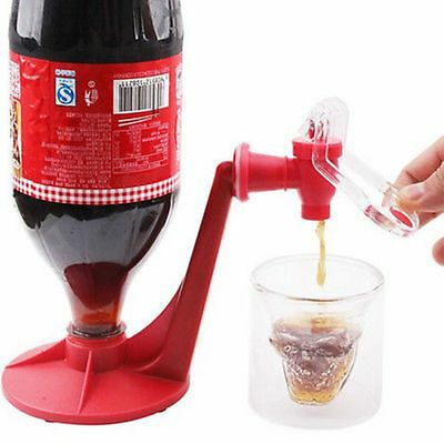 Coke Fizzy Soda Soft Drinking Drink Saver Dispense Dispenser Faucet Tap Home Bar