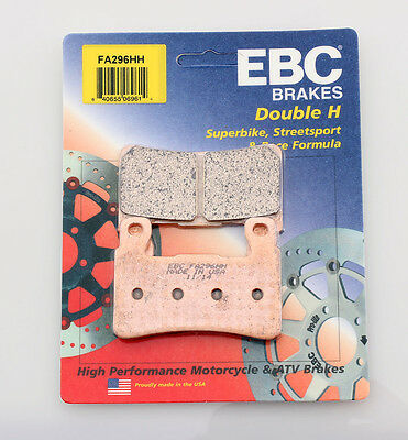 EBC Double-H Sintered Metal Brake Pads FA296HH
