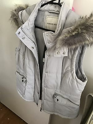 Forever New Vest Grey This Season!! 16 XL
