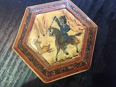 vintage wooden Chinese /Japanese box/trinket Box Hand Made
