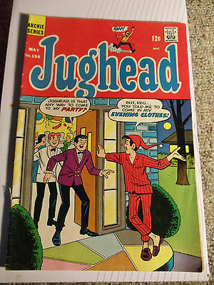 """"""" Jughead """"  May  # 156  (1968)  Archie Series"""
