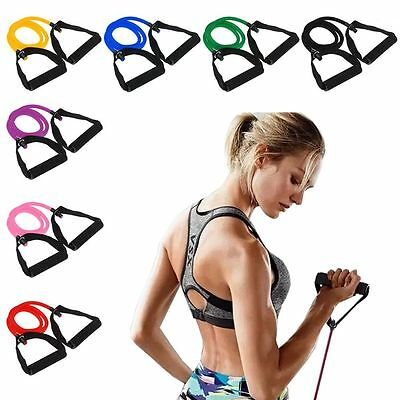 Elastic Resistance Band Pilates Latex Tube For Yoga Fitness Exercise Comfortable