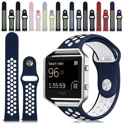 Dots Replacement Silicone Sport Band Fitness Bracelet Strap For Fitbit Blaze