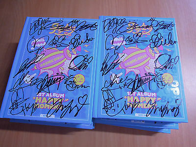 WJSN Cosmic Girls - Happy Moment (1st Promo) with Autographed (Signed)