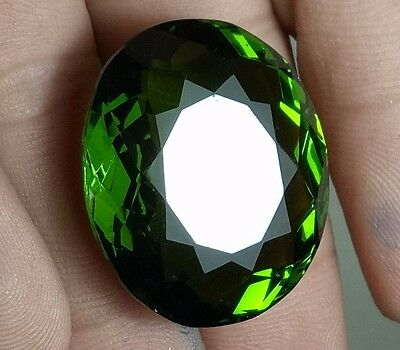 67.55 Ct  Pakistan Green Peridot Oval Shape  Loose Gemstone Ebay