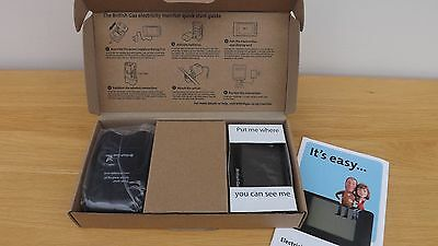 British Gas Energy Smart Electricity Monitor complete with Sensor