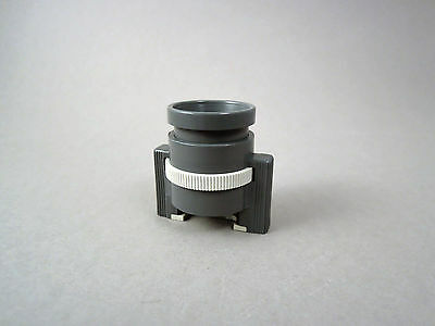 Vintage achromatic stand loupe magnifier 10x Made in Germany, reticle 10mm 0,1mm