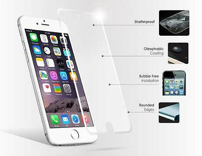 100%Genuine Tempered Glass Screen Protector For iPhone 7 Plus  {rj117