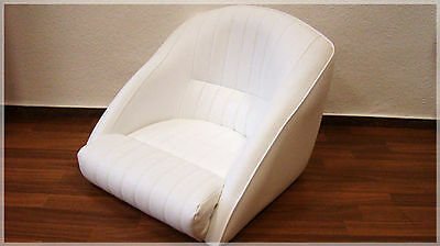 Boat Seat boat seat boat Steering chair seat White