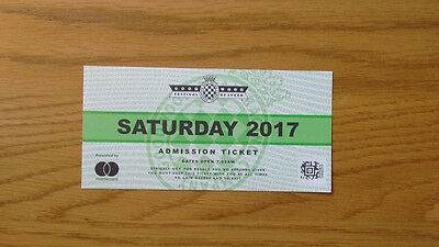 Goodwood Festival of Speed 2017 Saturday General Admission Ticket x1