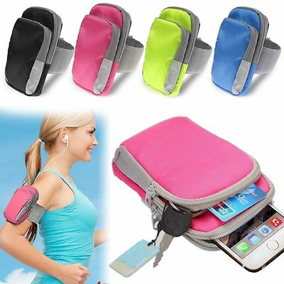 Portable Sports Cycling Running Armband Bag Phone Holder Soft Durable Convenient