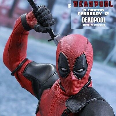 Deadpool Dead Pool Mms347 Mms 347 Hottoys Hot Toys 1/6 Action Figure Pa Aq5677