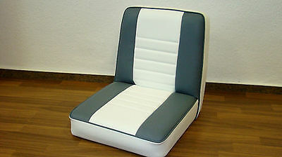 Boat Seat boat seat boat Steering chair seat Grey/White