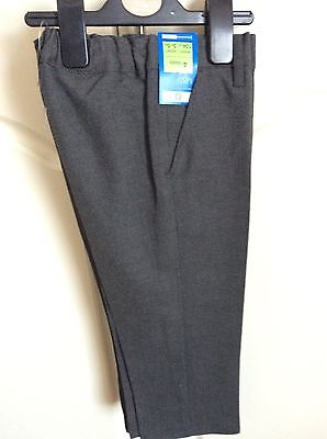 2 Pairs Of Marks And Spencers Boys School Trousers Age 4