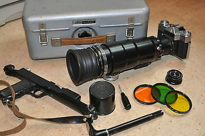 Telelens Tair - 3 s 4,5/300 M42 with the Zenit-es. 1970... kit #  77307722