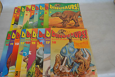 Job Lot Dinosaurs ! By Orbis Play And Learn Issues 1-18