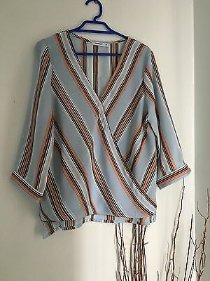 Valleygirl Long Sleeve Top Blouse Size 10 Worn Once