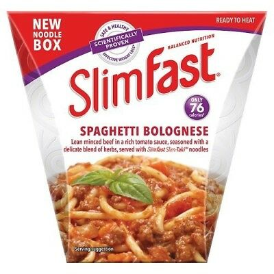 Slim Fast Spaghetti Bolognese Noodle Box 250 g. Best Price