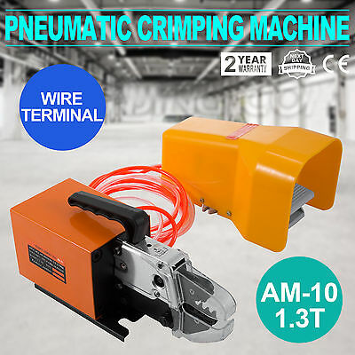 Pneumatic Wire Terminal Mobile Crimping Machine Efficient Replaced Conductor
