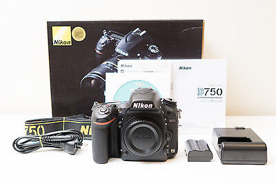 Nikon D750 DSLR Camera Body Only ~As New Low shutter count ~$1757 code C5OZ