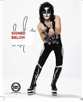Kiss - Eric Singer Hand Signed Rock The Nations  8 X 10 Photo  Kissworld New