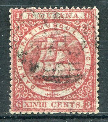 British Colonies British Guiana 1875-76 48c red perf 15 not listed