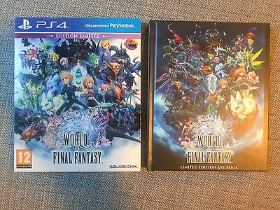 World Of Final Fantasy Edition Limitée Collector - PS4 - RARE