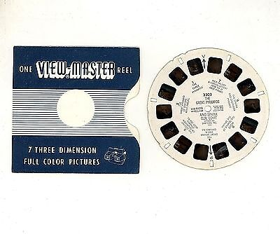 Dischetto  Reel View Master 3303 - Anno 1950 : The Great Pyramids