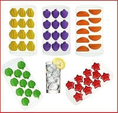 Assorted New Fancy Ice Cube Jelly Maker Funny Shape Silicon DIY Pop Mould Tray