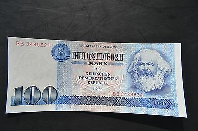 East Germany 100 Marks Banknote 1986 UNC