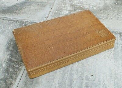 Wooden Box - Ideal for Fishing Tackle
