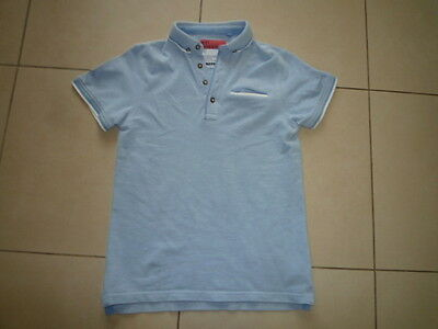 Next - Boys Blue Short Sleeved Top (11 Years) - Excellent Condition