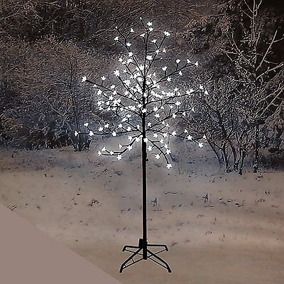 1.5M Pre-Lit LED Cherry Blossom Tree with 150 White Lights Outdoor / Indoor