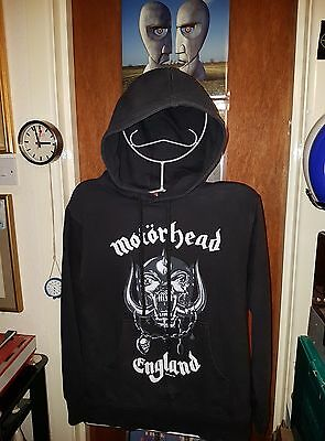 "2003 Official Motorhead England Hoodie Small Pit 2 Pit 19.5 "" + Pit 2 Cuff 20.5"""