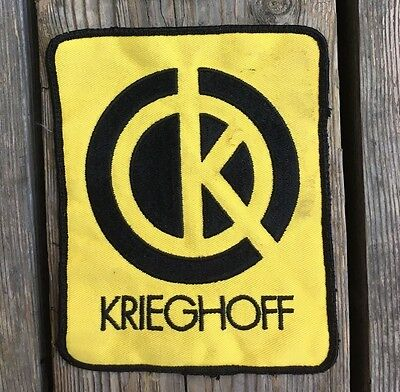 large krieghoff hunting gun patch 1970s