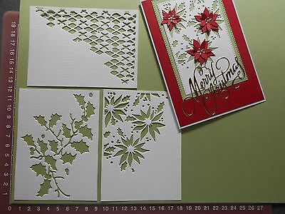 Card Making Die cuts - Tim Holtz Cutout Pieces x3