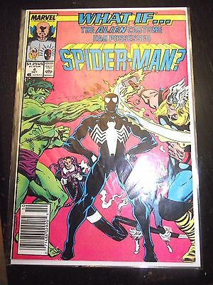 What If The Alien Costume had Possessed Spider-Man (#4) Newsstand GD/VG