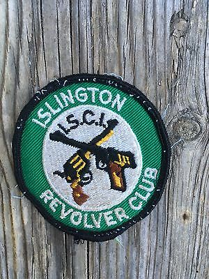 islington revolver club hunting gun patch 1970s