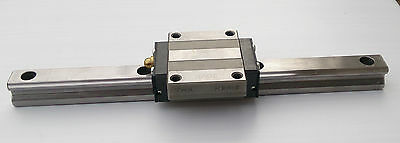 THK HSR15 1 block on 200mm rail LM linear ball bearing guide