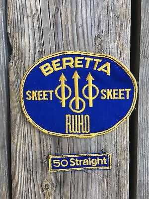 beretta skeet hunting gun patch 1970s