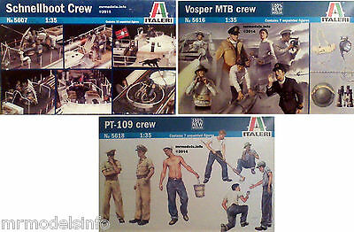 Italeri  1/35  Crew  Figures  New  Plastic Model Kit 1 35
