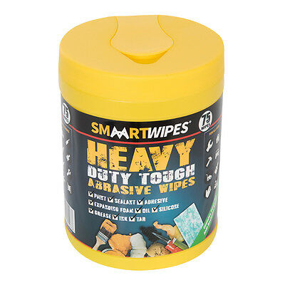 Smaart 998146 Heavy Duty Tough Abrasive Wipes 75pk 75pk
