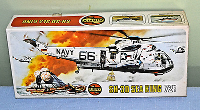 Model Aircraft Kit of the SH-3D SEA KING by AIRFIX 1/72  Kit No.03010-6 Series 3